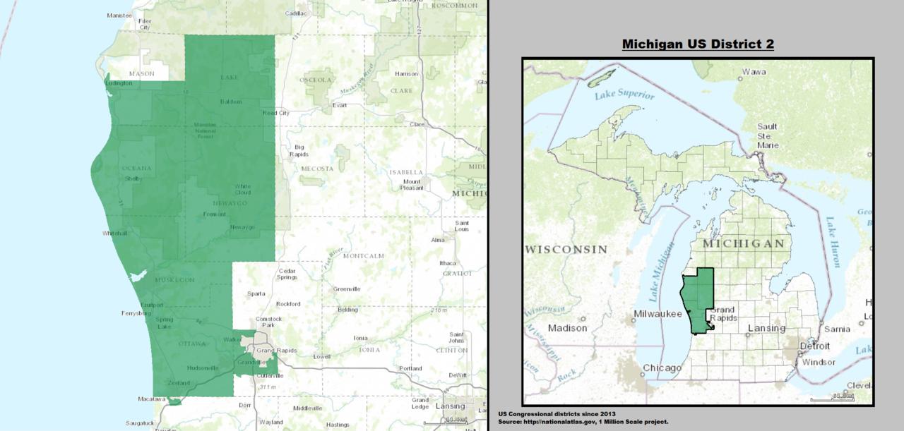 2018 House  Michigan2 Bill Huizenga R  Politcal