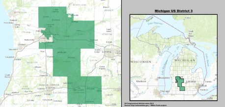 House  Michigan Justin Amash R Politcal Rockhound - Political map 2018 us house