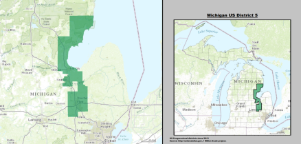 House  Michigan Dan Kildee D Politcal Rockhound - Political map 2018 us house