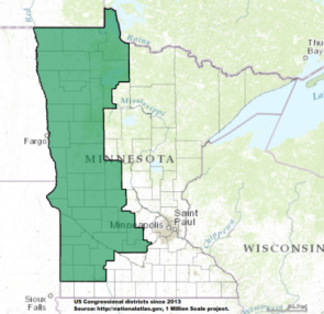 House  Minnesota Collin Peterson D Politcal Rockhound - Political map 2018 us house